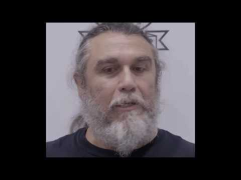 Slayer talks politics and guns - BOO debut Abstract Art video - Necromancing the Stone