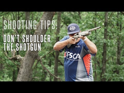Don't Shoulder The Shotgun: Shotgun Wing Shooting & Duck Hunting