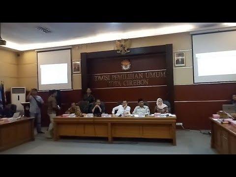 KPU Tetapkan PSU Pilwalkot Cirebon Akhir Pekan Ini