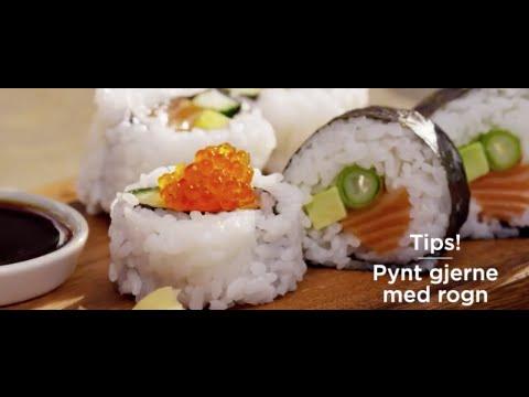 hvordan lage sushi