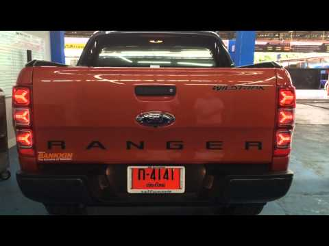 สุดยอดไฟท้าย! แต่งFord Ranger 2013 LED Lamborghini Style