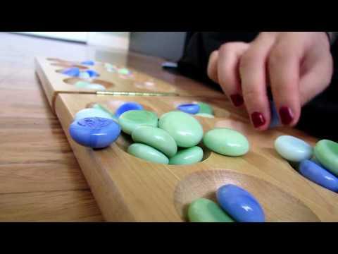 ASMR - Mancala | Marble Play