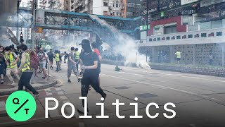 police-hong-kong-fire-tear-gas-protesters-china-security-law-tabled