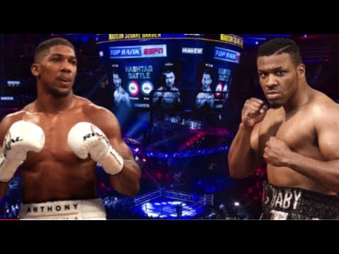 BREAKING! ANTHONY JOSHUA VS JARRELL MILLER TICKET SALES NEARLY SOLD OUT IN LESS THAN 24 HOURS