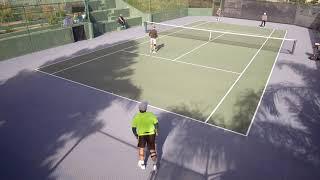 2 20 18  Skip Redondo Tennis Clinic Vint Tony Ken Jim