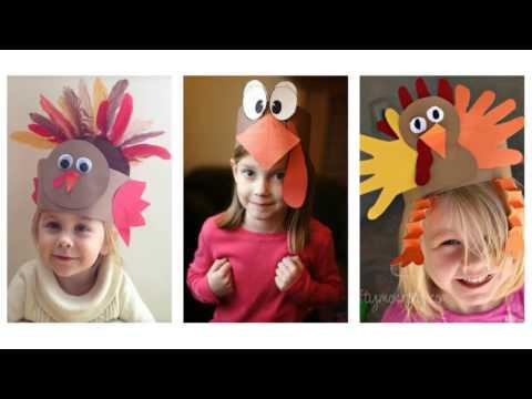 Easy Thanksgiving Crafts Ideas for Kids - 50+ Best Turkey Craft Ideas
