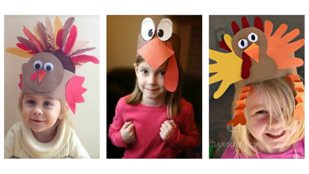 Easy Thanksgiving Craft Ideas For Kids Part - 50: Easy Thanksgiving Crafts Ideas For Kids - 50+ Best Turkey Craft Ideas -  YouTube