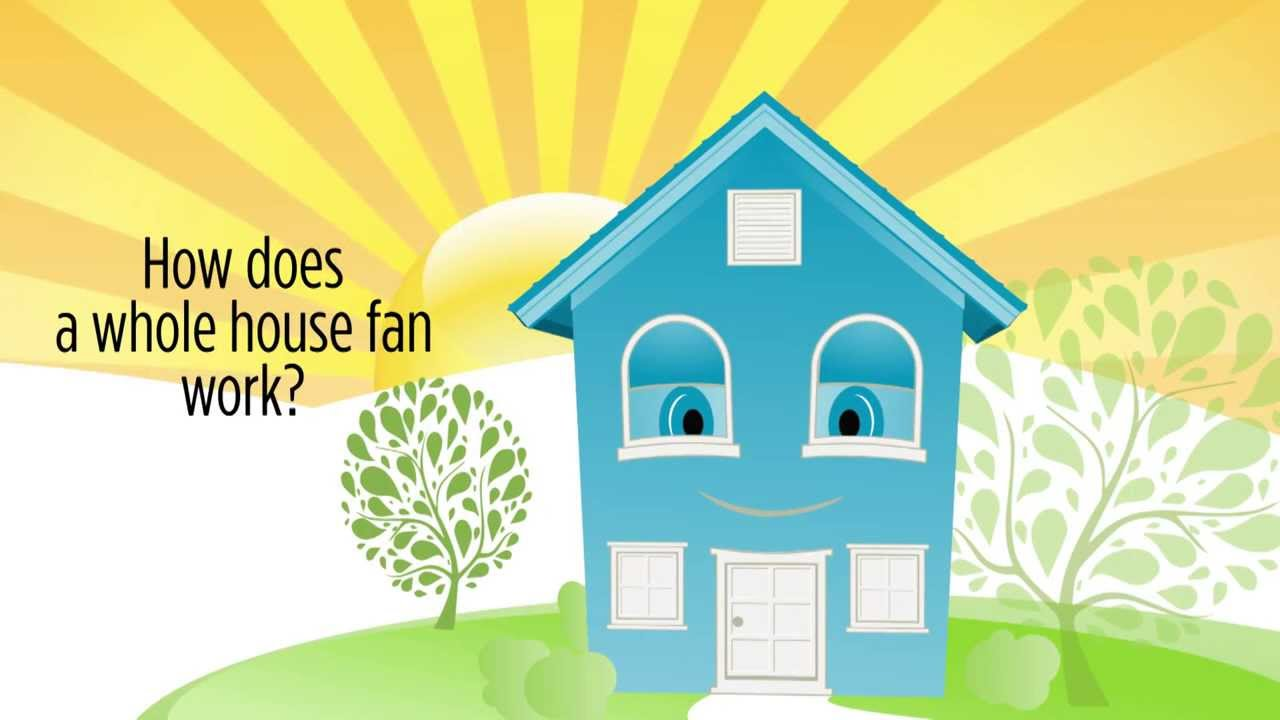 Centric Air - How Does a Whole House Fan Work? - YouTube