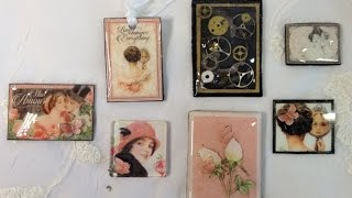 How To Make Paper Tiles using Scraps and left overs