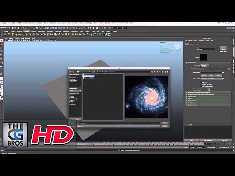 "CGI 3D Tutorial : ""Maya Dynamics: Galaxy Particle Effects"" - by Studio 4 Media"