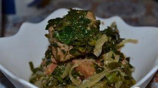 Сябзи гоурма мясо тушеное с зеленью  Азербайджанская кухня