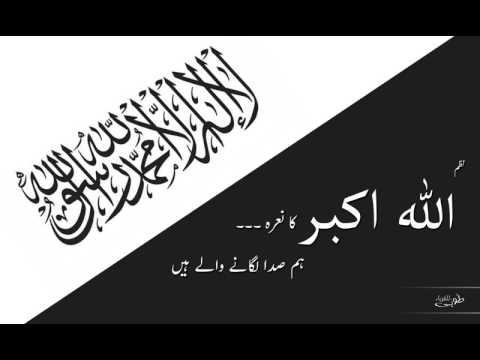 اللہ اکبر کا نعرہ - ہم صدا لگانے والے ہیں | ALLAHU AKBAR Ka Nara Hum Sada Lagane Wale Hain