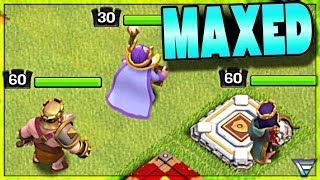 Never Upgrade A Hero Again | King Hammered to Max | Clash of Clans