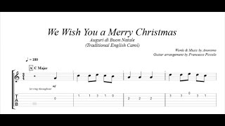Fingerstyle Guitar - We Whish You a Merry Christmas (From Christmas Tunes Nr.7)