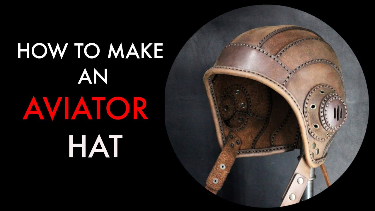 aviator cap tutorial and pattern download - YouTube 24fa93f0795