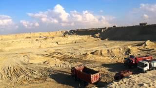 مشهد للحفر فى ديسمبر 2014
