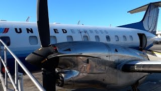 SkyWest EMB-120 Brazilia - Complete Flight - LAX to FAT