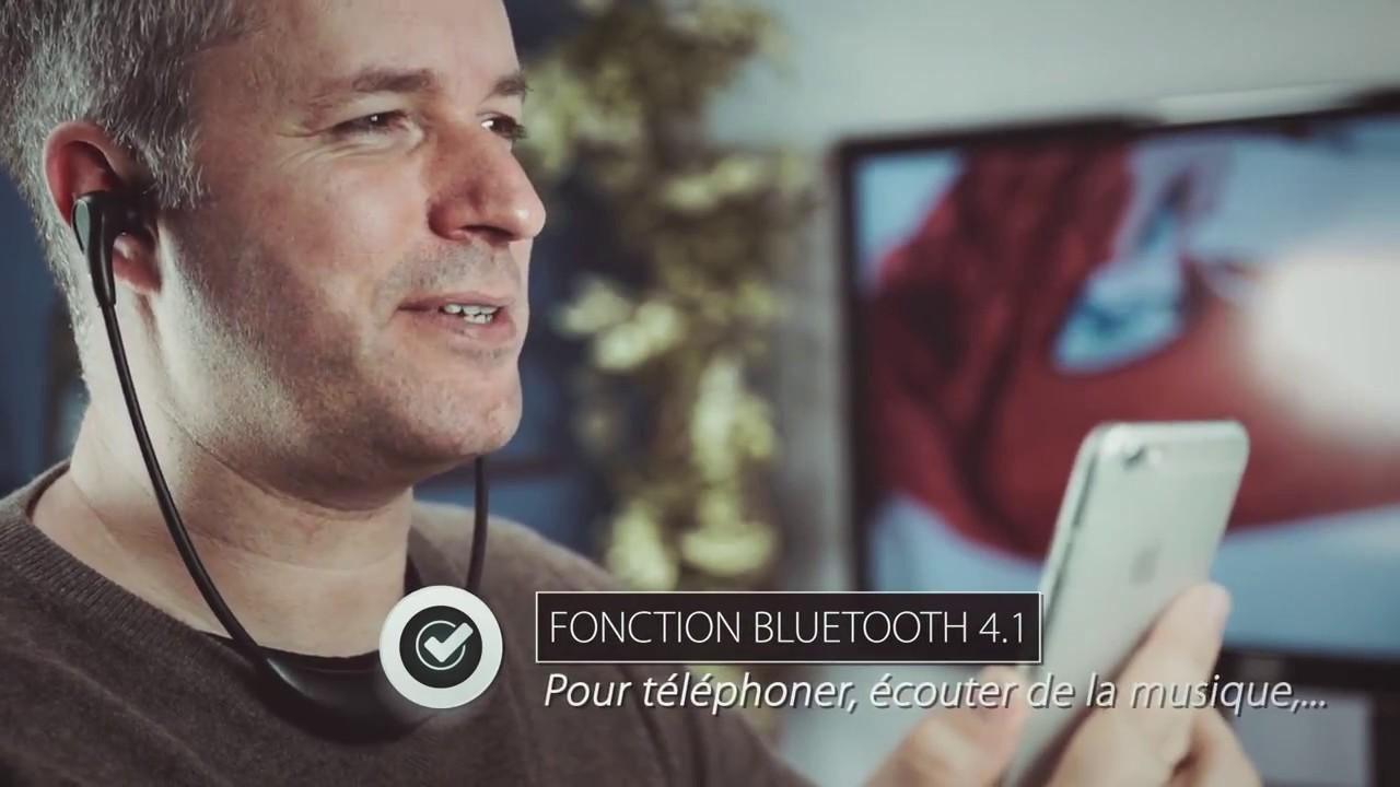 Casque Sans Fil Pour Télévision Et Appareils Bluetooth Smartphone