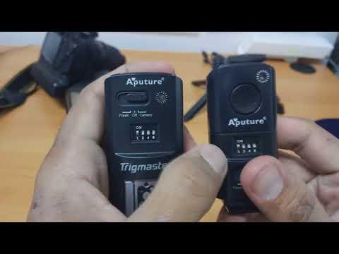 Aputure Trigmaster, Flash Dan Kamera Trigger Remote 2.4Ghz