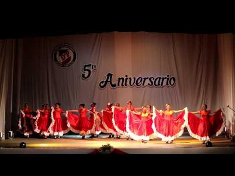Calama Aniversario Ballet Folklorico  Diego Portales 2017 Video 2