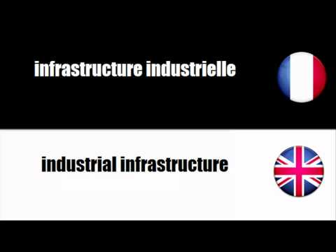 [French vocabulary] Infrastructure