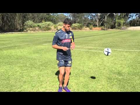 GIOCA Touch and Fabio Ferreira | Central Coast Mariners