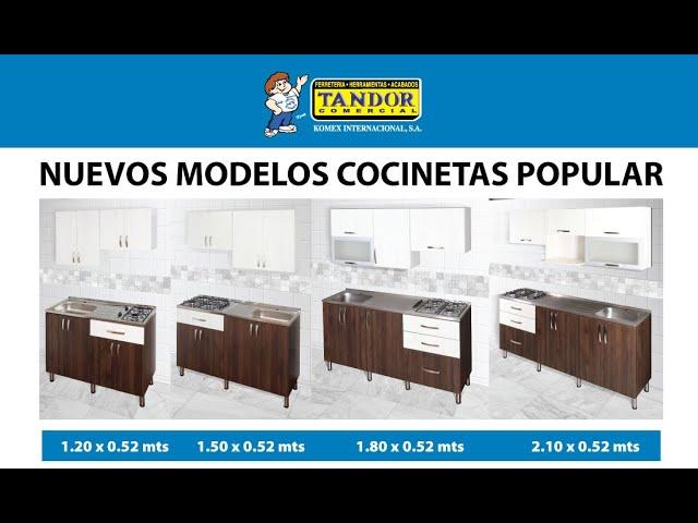 Nuevas Cocinetas Popular 2020