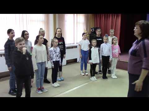"""Эстрадный хор """"Весёлая компания"""" Молитва Матери/S. Khorolskiy/"""