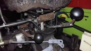 Доробка КПП мототрактора DW 150R(Знижена/Підвищена)