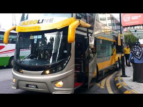 Bus Review - Aeroline Executive Coach Kuala Lumpur (KL) to Johor Bahru (JB) Malaysia