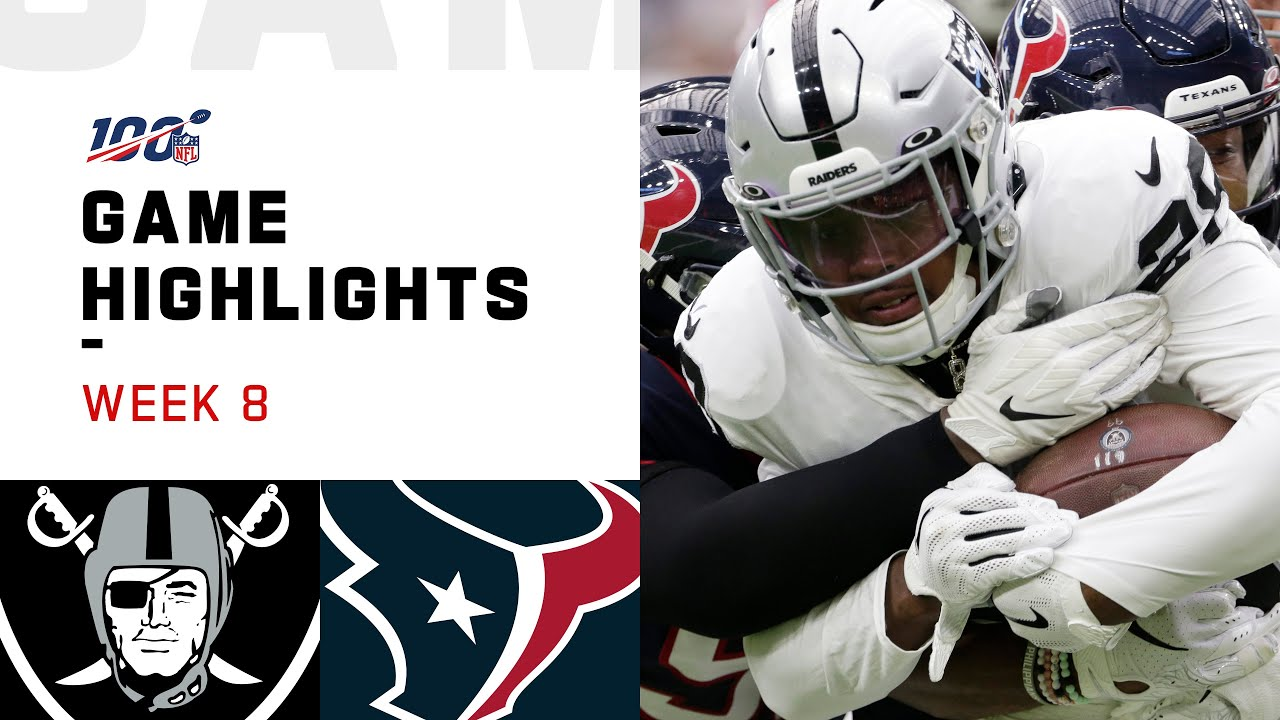 How to Watch Raiders vs. Texans