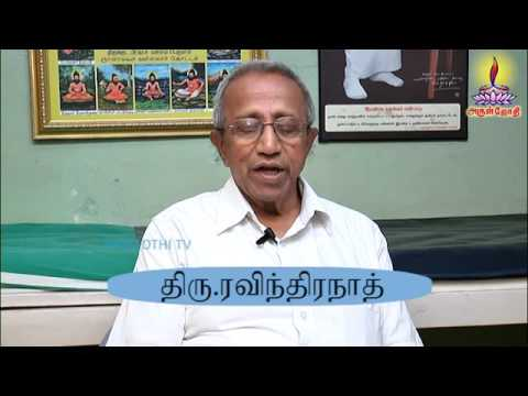 The Importance of Healthy Life Style - Tamil Speech திரு. Ravindhranath - Arul Jothi TV