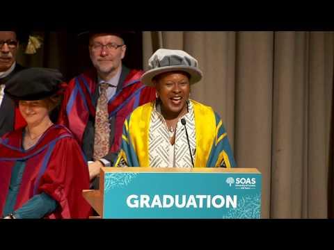 Sokari Douglas Camp CBE, Honorary Fellowship, SOAS Graduation 2017