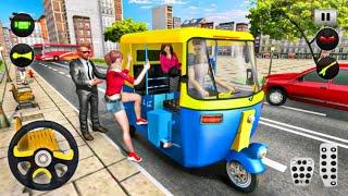Tuk Tuk Rickshaw Driving Simulator - Realistic Tuk Tuk City Driving - Android Gameplay screenshot 4