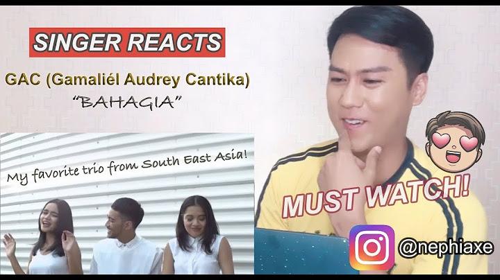 gac gamalil audrey cantika  bahagia singer reacts