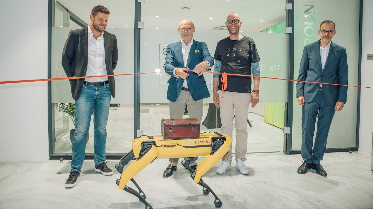 Disruptive Schlüsseltechnologien live erleben: SQUARE Tech-Playground im Hamburger Ding hat eröffnet