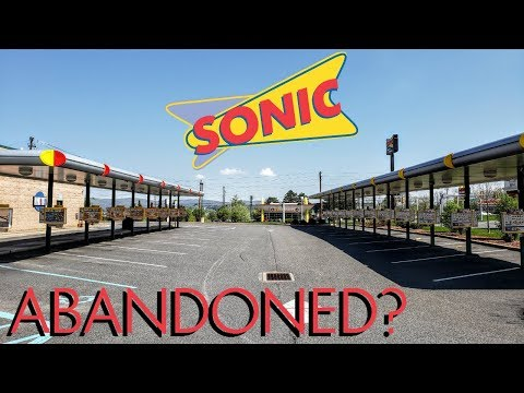Possibly Abandoned Sonic Drive In?