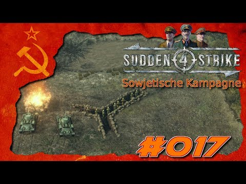 ▲Let's Play: Sudden Strike 4▲Die Plattensee Defensive #017 Sowjetische Kampagne [deutsch]