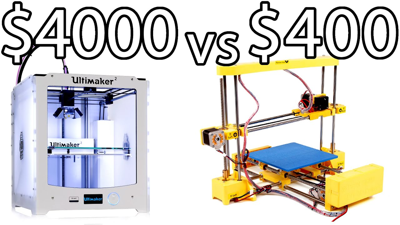 Ultimaker 2 vs print rite diy 3d printer how to bed for Made with 3d printer