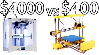 ULTIMAKER 2 vs PRINT-RITE DIY 3D Printer & How to Bed Level - PRINTER PARTY | Make Test Battle(, 2016-01-12T07:00:46.000Z)