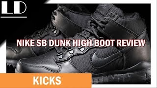 Nike SB Dunk High Boot Review - YouTube