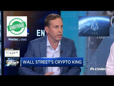"""CNBC's """"Crypto King?"""" EOS Blockchain Launching! Hedge Funds Looking At Arbitrage Opportunities!"""