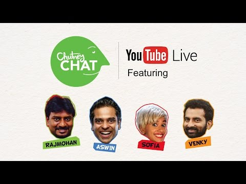 Chutney Chat Live with Vinodhini Vaidhyanathan - Episode #1
