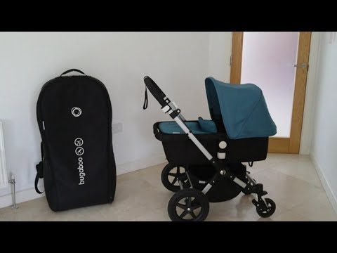 Bugaboo Cameleon 3 carrycot * How to put Bugaboo cameleon 3 carrycot in the  Bugaboo transport bag