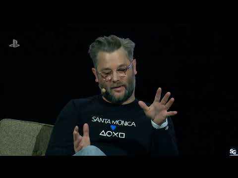 PSX 2017 - God of War info | Cory Barlog (Santa Monica Studios)