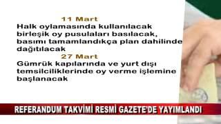 REFERANDUM TAKVİMİ RESMİ GAZETE'DE YAYIMLANDI (17.02.2017 - BOLU)