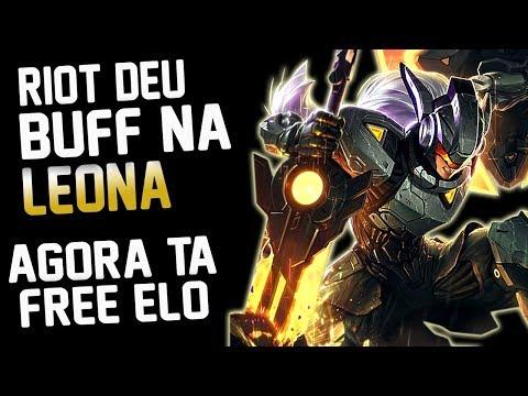 LEONA DE VOLTA NO TOP - DO BRONZE O DIAMANTE IZI - BUFF LEONA