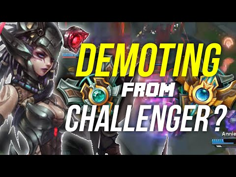 Imaqtpie - DEMOTING FROM CHALLENGER? (EVERYTHING IS ON THE LINE)