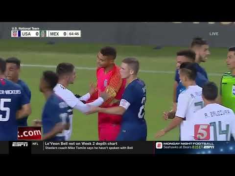 U.S. Men's Soccer Team Beats Mexico In Nashville