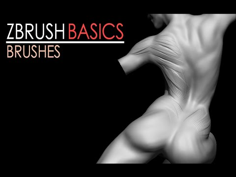 ZBrush Basics: Brushes